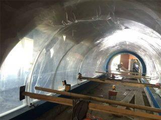 Personigita grandajn akvariojn plastojn tunelo akrila projekto