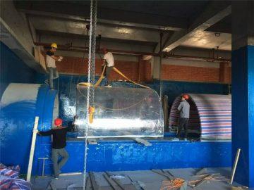 plastoj akvila akvila projekto tunelo
